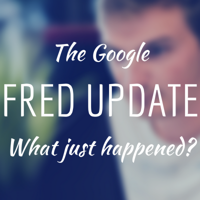 google fred update what happened